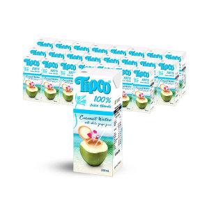 [팁코] 코코넛워터 200ml x24팩/음료/음료수/주스/쥬스