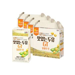 [맛있는두유GT] 맛있는두유GT 달콤 64팩
