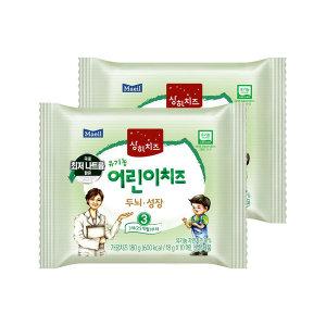[매일유업] 매일 상하 유기농 어린이치즈 3단계 80매/치즈/이유식