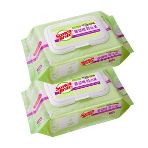 [3M] 표준형 베이직 물걸레 청소포 60매