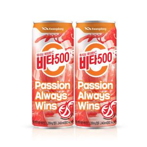 [비타500] 비타500 240ml x 24캔/음료수/비타민c