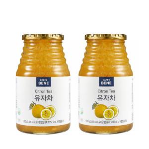 [카페베네] 유자차1kg+1kg /과일청/레몬차/자몽차/유자차