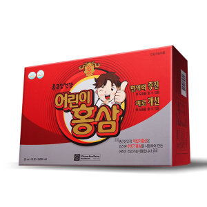 [종근당] 6년근 어린이홍삼 (1개월분) / 맛있는 홍삼