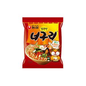 [농심] 너구리 20봉 /얼큰한 맛/