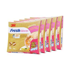 [3M] 후레쉬 위생장갑 100+100매 3개세트 총 600매