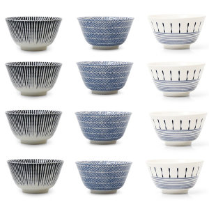 [소소한식탁] 일본 스타일 공기+대접 4개