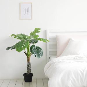 [룸앤홈] 몬스테라 조화나무 인테리어 조화 인조 가드닝