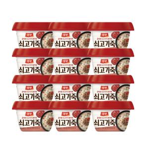[양반] 동원 양반죽 쇠고기죽 285g x 10개 /즉석죽/즉석식품