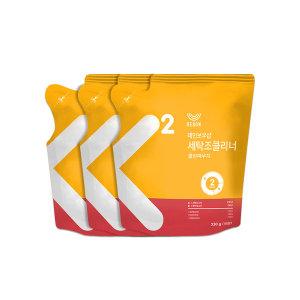 [레인보우샵] 세탁조클리너 클린파우치 3팩 (330g x3팩)