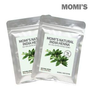 [모미스] 모미스 100% 천연 헤나 염색약 새치 100g+100g 1+1