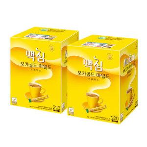 [맥심] 무료배송  동서 맥심모카커피믹스 220T 2 (총440T)