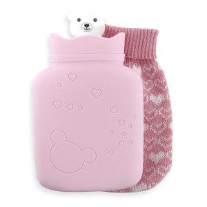 보온 물주머니(핑크) 찜질주머니 보온팩 찜질팩 손난로