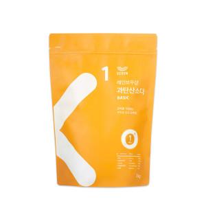 [레인보우샵] 과탄산소다 3kg 대용량 1+1  베이직