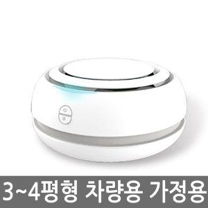 마미봇 공기청정기 화이트 나노필터 LG UV 살균 LED