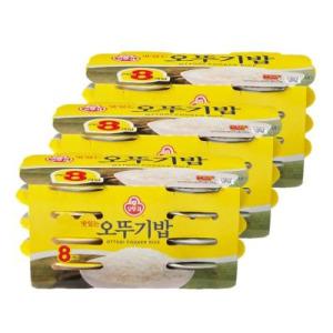 [오뚜기] 오뚜기 맛있는밥 210G 24입 (8입 3묶음)
