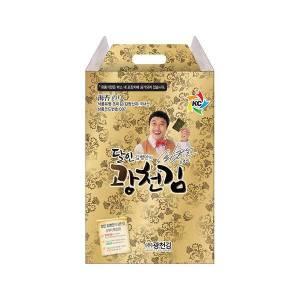 [광천김] 달인 김병만의 광천김 선물세트 7호/전장김 10봉