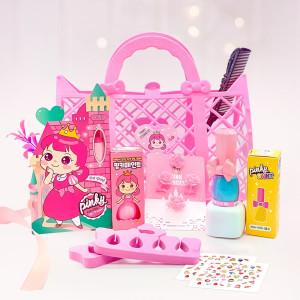 [핑크공주] 유아매니큐어 어린이립스틱 어린이 화장품 선물세트