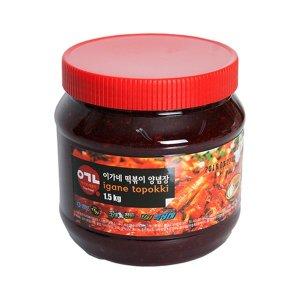 [이가네떡볶이] 이가네 떡볶이 만능 양념장 소스 3대천왕 우승 맛집