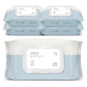 집청소골라담기 물걸레청소포 캡형 150매외