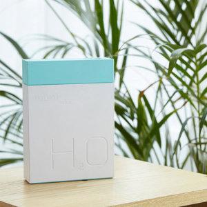 시그마 블럭 USB 가습기 11H 블루 11시간사용 휴대용