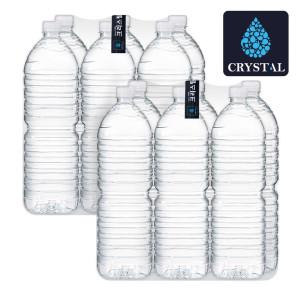 [크리스탈] 크리스탈 블랙라벨 생수 2L 12개