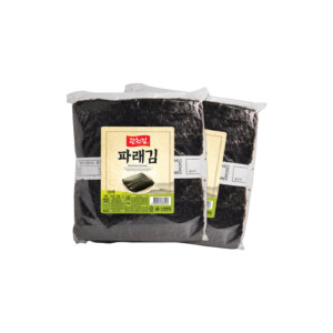 광천김 파래김 생김 200매 (150G+150G)