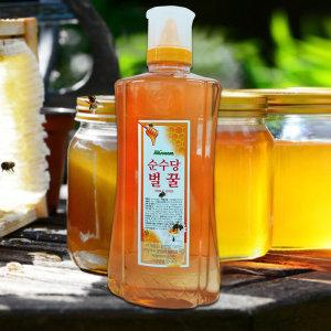 순수당 국산벌꿀 대용량튜브2kg/꿀/아카시아꿀/사양꿀