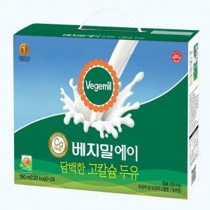 정식품 베지밀담백한고칼슘A 190MLx24