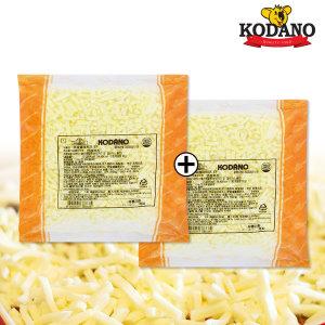 [코다노] 코다노 모짜렐라 DMC-F 치즈1kg+1kg  피자치즈 특가