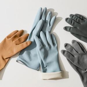 [생활공작소]100%천연 라텍스 고무장갑 5개