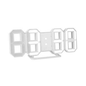 [코시] 3D LED 미러 디지털 벽시계 인테리어 무소음 AC3339L
