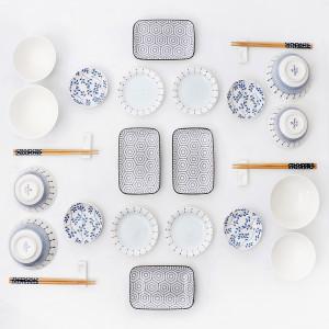 소소한식탁 일본식 식기세트 28P(4인)/ 그릇세트 접시