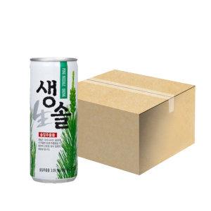 생솔 240mlx30캔 1박스 솔잎음료