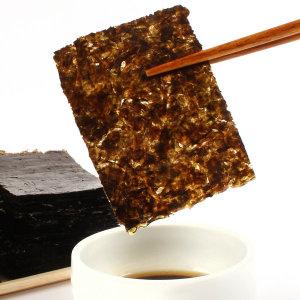 나윤찬의 맛있는 서천 재래김 100장(초사리김)