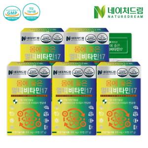 [조아제약] 몸에 좋은 멀티비타민 30정 5박스/영양제/비타민