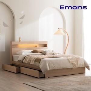 [에몬스가구] 에몬스 클레어 에디션 침대 퀸(Q)
