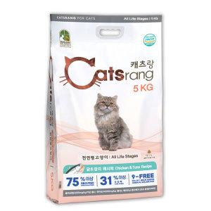 [캐츠랑]캐츠랑 전연령 20kg(5kg x 4개) 캣츠랑 고양이사료