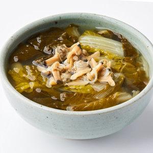 가마솥 생 바지락 시래기국/시락국 500gx3팩