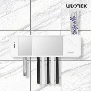 [유토렉스] 유토렉스 헤드형 칫솔살균기 블랙 UTC-5400B