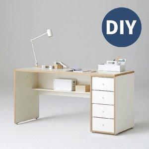 [한샘] 샘 책상 150cm 하부서랍형 DIY