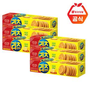 리츠 샌드위치 크래커 레몬96g 6개입+에코백증정