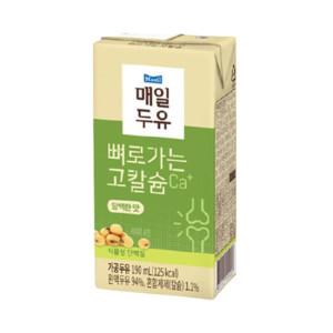 [뼈로가는칼슘두유] 담백한맛 190ml 48팩/두유