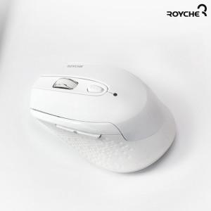 [로이체] 무선 무소음 옵티컬 마우스 RX-550 화이트 / 2.4Ghz /