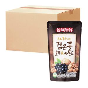 [삼육두유] 삼육 검은콩호두아몬드파우치 190ml 15팩