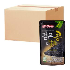 [삼육검은콩두유] 삼육 검은콩앤칼슘 190ml 20팩