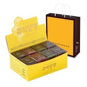 [화과방] 큐빅 영양갱(40gx30입)+쇼핑백