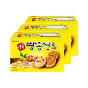 [국희] 국희 땅콩 샌드 372g 12봉 3박스