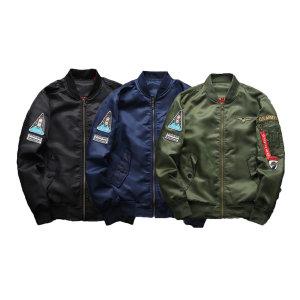 고품질 남성용 와펜 봄버 항공 자켓 7size - 3color