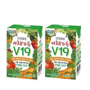 [썬몬드] 베지밀  야채가득 v19 145ml x 24팩