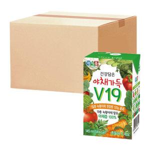 [썬몬드] 베지밀 야채가득v19 145ml x 48팩
